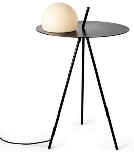 Вспомогательный столик с лампой Circ 42X42X68 CM