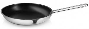 Сковорода stainless steel с антипригарным покрытием slip-let® d26 см