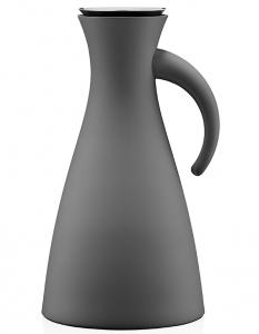 Термокувшин vacuum 1 L тёмно-серый матовый