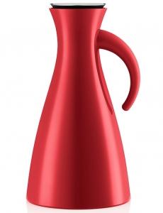 Термокувшин Vacuum 1 L  красного цвета