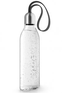 Бутылка плоская 500 ml чёрная