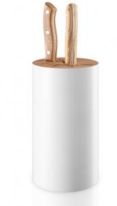 Подставка для ножей nordic kitchen белая