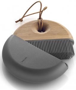 Щётка с совком силиконовая в чехле Sweep