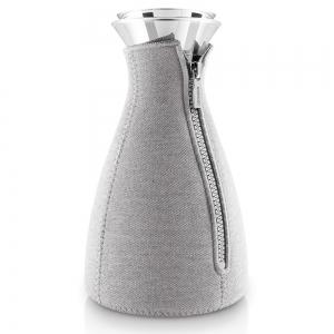 Кофейник cafe solo в неопреновом текстурном чехле 1 L светло-серый