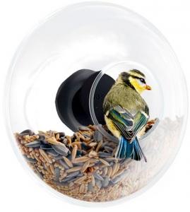 Кормушка для птиц стеклянная Ø14 CM