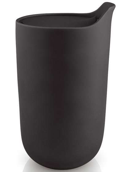 Термокружка керамическая 280 ml черная 1