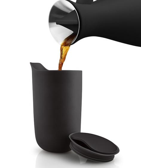 Термокружка керамическая 280 ml черная 3