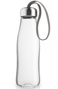 Бутылка стеклянная 500 ml taupe