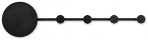 Бра-вешалка Han 101X25 CM черное