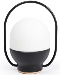 Светильник переносной Take Away LED 12X12X20 CM чёрно-белый