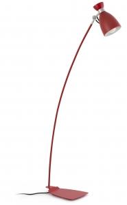 Торшер Retro 17X30X128 CM красный