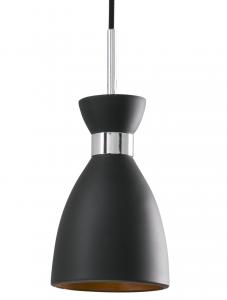 Подвесной светильник Retro 12X12X19 CM чёрный