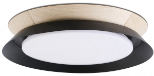Потолочный светильник Tender LED 45X45X8 CM чёрный