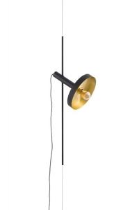 Подвесной светильник Whizz 25X30X120 CM чёрный