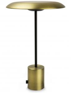 Настольная портативная лампа Hoshi LED 26X26X40 CM Satin gold