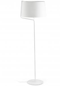 Торшер Berni 48X48X151 CM белый