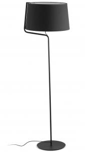 Торшер Berni 48X48X151 CM чёрный