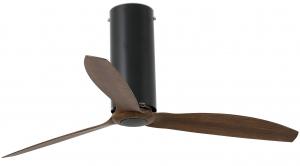 Вентилятор потолочный Tube 128X128X45 CM black/wood