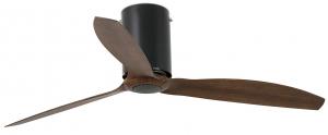 Вентилятор потолочный Mini Tube 128X128X29 CM black/wood