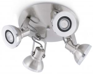 Интерьерный светильник Ring 23X23X13 CM никель