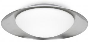 Потолочный светильник Side LED 39X39X11 CM white/nickel