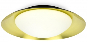 Потолочный светильник Side LED 45X45X12 CM gold