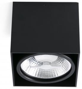 Потолочный светильник Tecto 14X14X12 CM чёрный