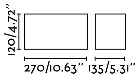 Потолочный светильник Tecto 27X14X12 CM чёрный 2