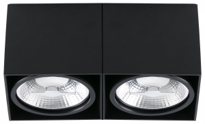 Потолочный светильник Tecto 27X14X12 CM чёрный