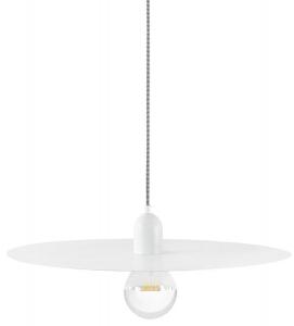 Подвесной светильник Plat 50X50X15 CM белого цвета
