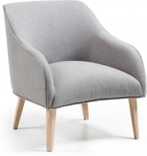 Кресло Lobby 65X75X80 CM светло-серое