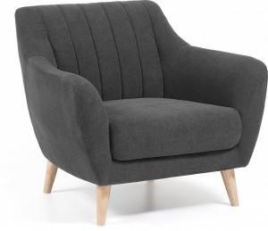 Мягкое кресло Off 90X81X81 CM тёмно серое