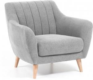 Мягкое кресло Off 90X81X81 CM светло серое
