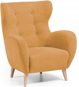 Кресло в скандинавском стиле Passo оранжевое