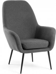 Кресло Valeria 70X78X96 CM тёмно серое