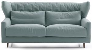 Двухместный диван Folk 170X92X93 CM бирюзовый