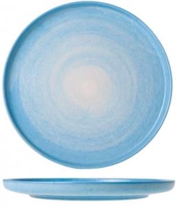 Керамическая тарелка Destino L.Blue Ø25 CM