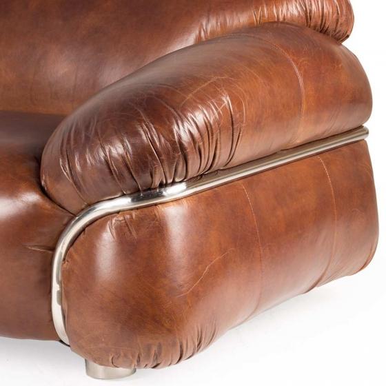 Диван кожаный Heil 230X105X75 CM 4