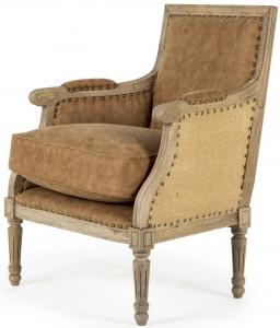 Кресло на каркасе из манго Milos 66X62X86 CM