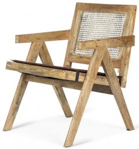 Винтажное кресло из манго Alberta 59X65X80 CM