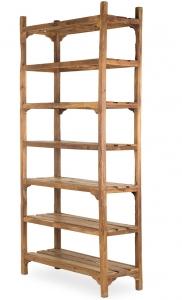 Антикварный деревянный стеллаж Vintage 120X46X245 CM