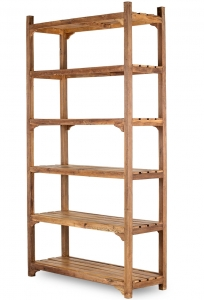Антикварный деревянный стеллаж Vintage 122X46X230 CM