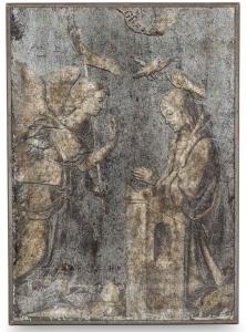 Стеклянная картина в деревянной раме Religión 104X144 CM