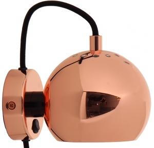 Лампа настенная Ball 16X12X10 CM бронзовая