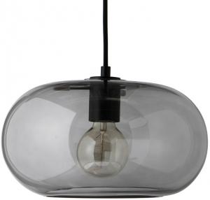 Лампа подвесная Kobe 30X30X17 CM дымчатое стекло