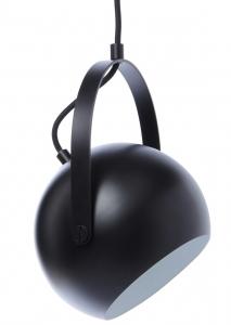 Лампа Ball с подвесом 19X19X24 CM чёрная матовая