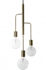 Лампа подвесная Cool 28X28X60 CM античная латунь матовая