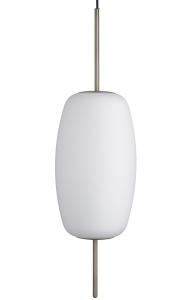 Лампа подвесная Silk 22X22X78 CM белое опаловое стекло