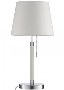Лампа настольная Venice 17X17X44 CM белая