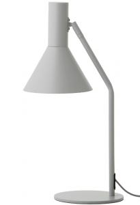 Лампа для рабочего стола Lyss 18X22X50 CM светло-серая